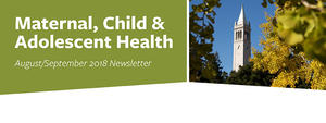 The August/September 2018 MCAH Newsletter is headed with a photo of the campanile and fall trees.